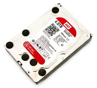 "WD Red 3,5"" HDD 4TB NAS 5400RPM 64MB SATA III 6Gb/s"