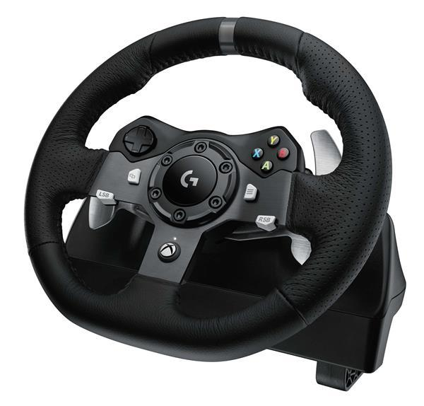 Logitech® STEERING WHEEL G920,STARLIGHT,IN-HOUSE/EMS,NO LANG