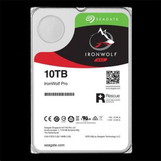 Seagate IronWolf Pro NAS HDD 10TB + Rescue 7200RPM 256MB SAT