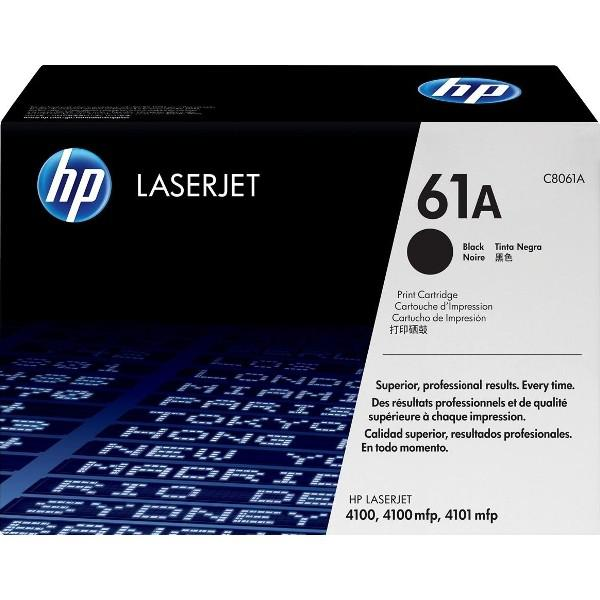 HP LaserJet C8061A Black Print Cartridge