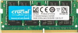 16GB DDR4 2400 MT/s (PC4-19200) CL17 SR x8 Crucial Unbuffere