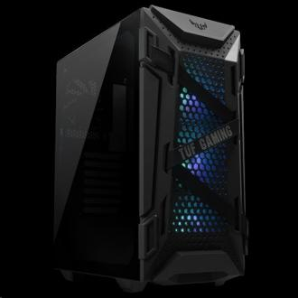 ASUS TUF GAMING GT301 case ATX Black, AURA LED fan