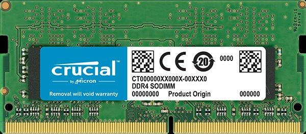 16GB DDR4 2666 MT/s (PC4-21300) CL19 DR x8 Crucial Unbuffere