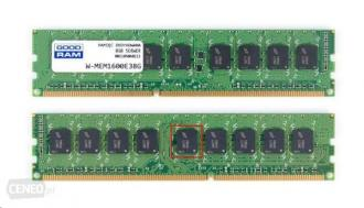 DDR 3 ................8 GB . 1600MHz ECC ........... GOODRAM