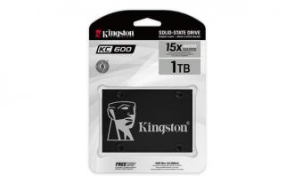 "Kingston 1 TB SSD KC600 Series SATA3, 2.5"" (7 mm) ( r550 MB/"