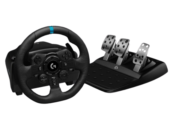 Logitech® G923 Racing Wheel and Pedals for PS4 and PC - N/A