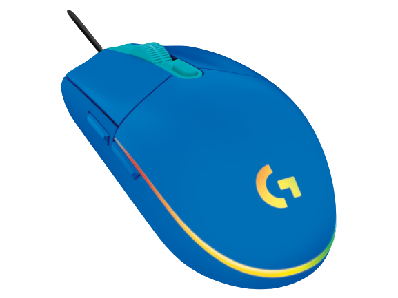 Logitech® G102 2nd Gen LIGHTSYNC Gaming Mouse - BLUE - USB -