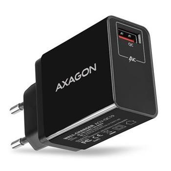 AXAGON QUICK nabíjačka do siete, 1x port QC3.0/AFC/FCP/SMART, 19W (ACU-QC19)