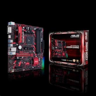 ASUS EX-A320M-GAMING soc.AM4 A320 DDR4 mATX DVI HDMI