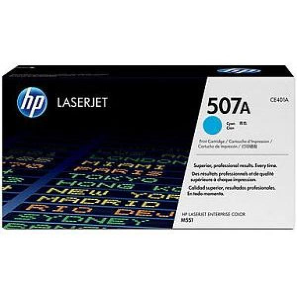 HP LaserJet 507A Cyan Print Cartridge CE401A