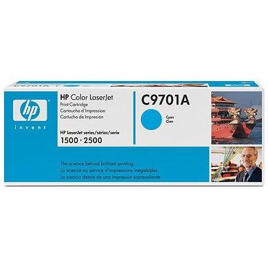 HP LaserJet C9701A Cyan Print Cartridge