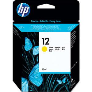 HP 12 Yellow Ink Cartridge