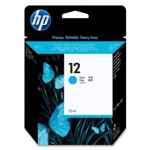 HP 12 Cyan Ink Cartridge