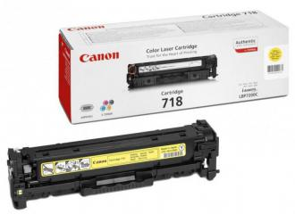 Canon cartridge CRG-718 yellow LBP-7200, MF-83x0