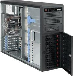 "Supermicro® CSE-743T-R760B Tower/8 x 3.5"" SAS/SATA Hot-swapp"