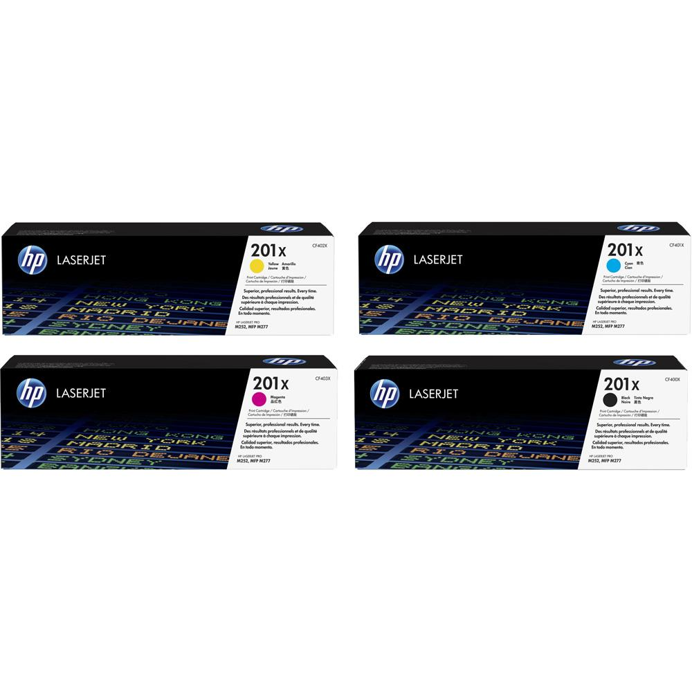 HP 201X bundle - CF253XM + CF400X