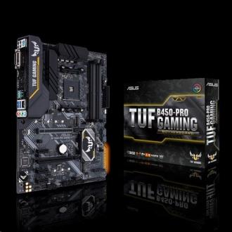ASUS TUF B450-PRO GAMING soc.AM4 B450 DDR4 ATX M.2 USB-C DVI