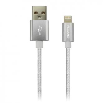 Canyon CNE-CFI3PW, 1m kábel Lightning/USB, bez Apple certifi