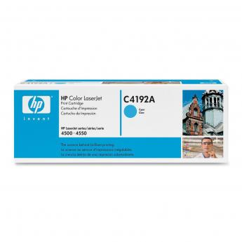 HP LaserJet C4192A Cyan Print Cartridge