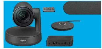 Logitech Rally Ultra-HD ConferenceCam - BLACK - USB