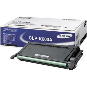 Samsung cartridge CLP-K600A black (CLP-600)