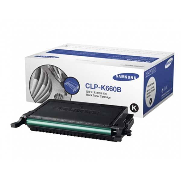 Samsung cartridge CLP-K660B black (CLP-660)