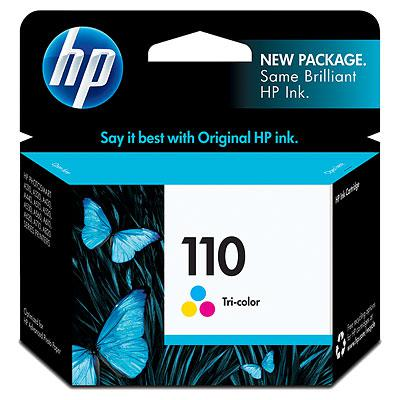 HP 110 Tri-color Inkjet Print Cartridge