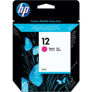 HP 12 Magenta Ink Cartridge