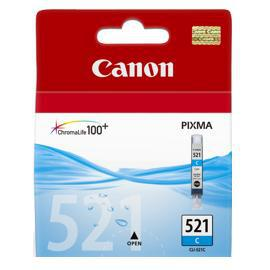 kazeta CANON CLI-521C cyan MP 540/620/630/980, iP 3600/4600