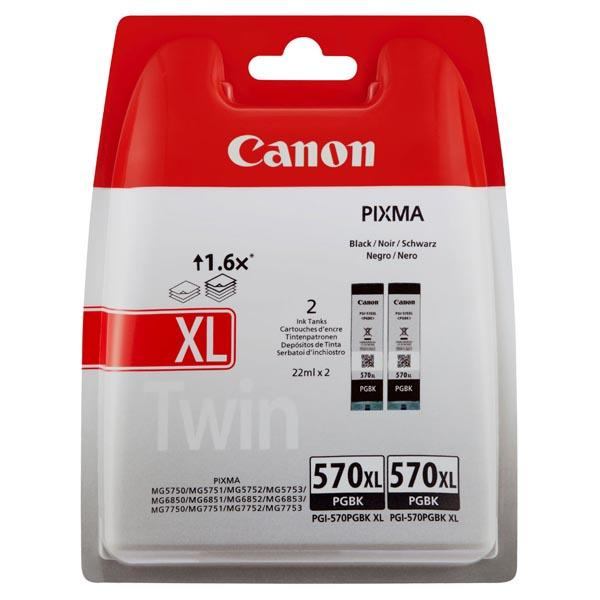 Canon PGI-570 PGBK, XL double pack