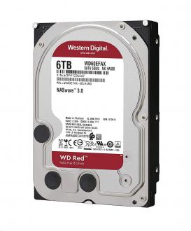 "WD Red 3,5"" HDD 6,0TB 5400RPM 256MB SATA 6Gb/s"