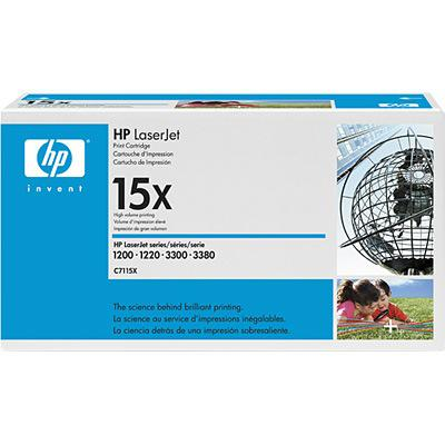 HP LaserJet C7115X Black Print Cartridge